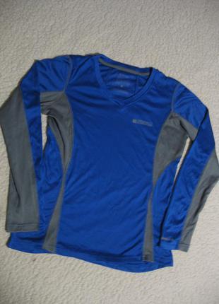 Спортивная футболка с длинным рукавом mountain warehouse