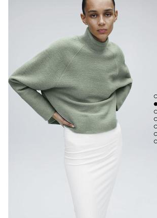Шерстяной свитер zara лимитка