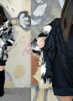 Модная стильная шубка полушубок шуба бесплатная доставка