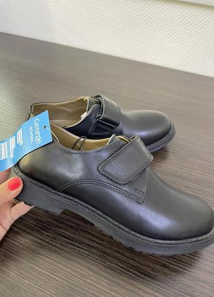 Кожанные туфли george