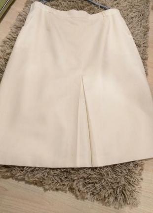 Эксклюзивная коллекция юбка шерсть woolmark р.52 +