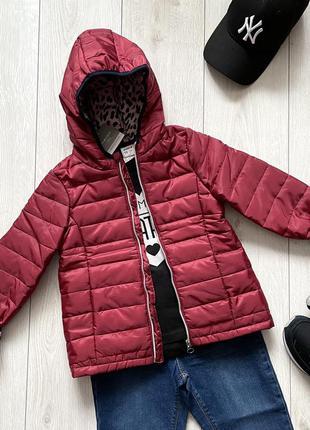 Подростковая осенняя куртка для девочки piazza italia италия