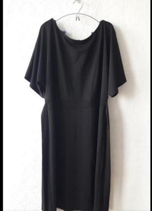Новое платье с широким рукавом