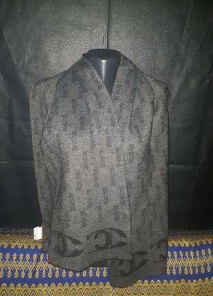 Теплый двухсторонний шарф унисекс just cavalli