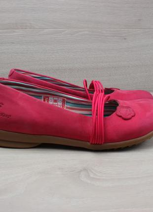 Женские кожаные туфли / балетки kickers, размер 37