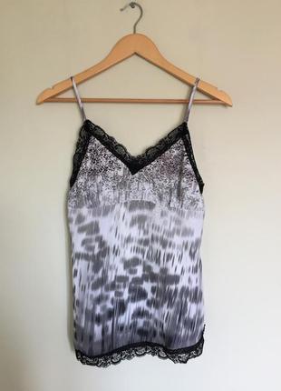 Топ в бельевом стиле guess, блуза xs/s оригинал