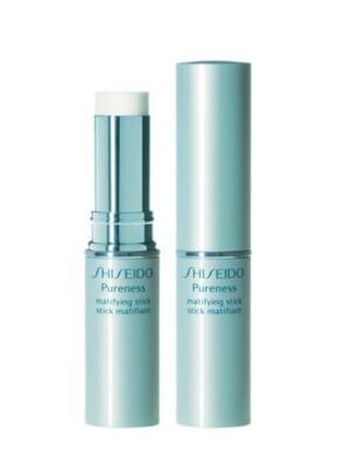 Матирующий карандаш shiseido pureness matifying stick
