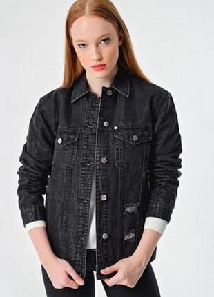 Куртка джинсова жіноча armani exchange куртка джинсовая армани иксчендж оригінал