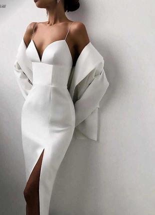 Костюм платье +пиджак 💖
