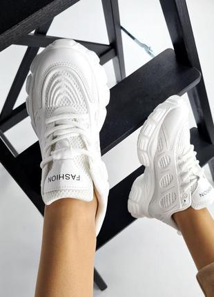 Кроссовки женские, кожаные кроссовки, модные кроссовки, высокие кроссовки