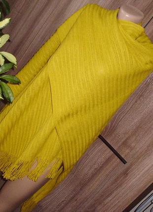 M&s пончо-шарф трикотаж