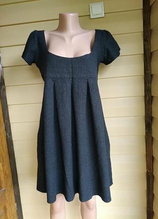 Платье maje оверсайз,55%шерсть,44%вискоза,1%эластан,оригинал.