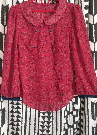 Блуза рубашка евро 10