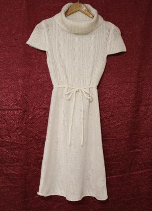 В'язане шерстяне плаття