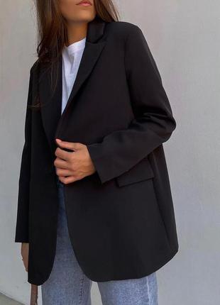 Оверсайз пиджак в наличии в чёрном , зелёном и в пудре