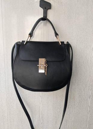 Роскошная кожаная сумка