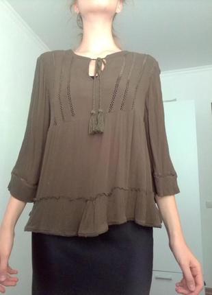 Бохо блуза