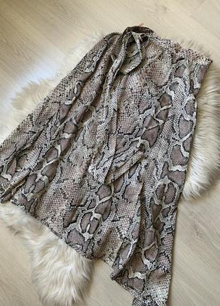 Красивая юбка под шелк