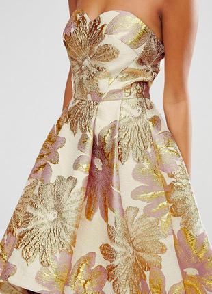 Жаккардовое платье chi chi london