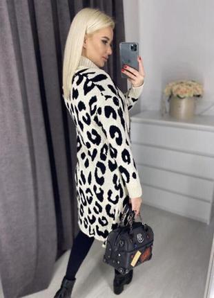 Кардиган свитер в леопардовом стиле от f&f