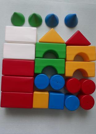 Кубики цветные летняя осенняя весенняя зимняя распродажа лот обмен коллекция