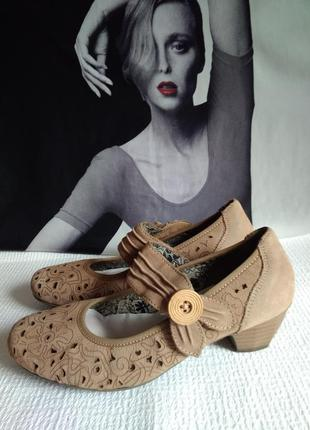 Rieker кожаные оригинальные туфли 36