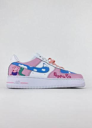 🌺 жіночі рожеві кросівки nike air force 1 low pink / женские розовые кроссовки найк 🌺