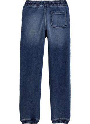 Котоновые джогеры штаны джинсы  для мальчика бренд  oshkosh