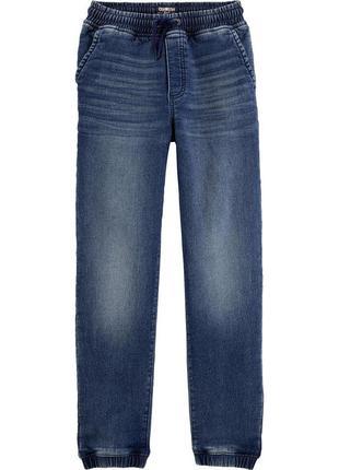 Котоновые джогеры штаны джинсы  для мальчика oshkosh (сша