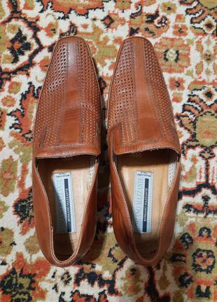 Туфли кожаные 40 размер на осень