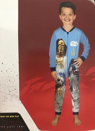 Флисовий чоловічок піжама на хлопчика star wars пижама на мальчика флисовый человечек