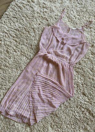 Модный сарафан ниже колена