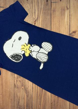 Красивое домашнее платье snoopy ,ночная рубашка от peanuts disney