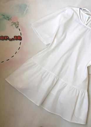 Шикарная белая блуза
