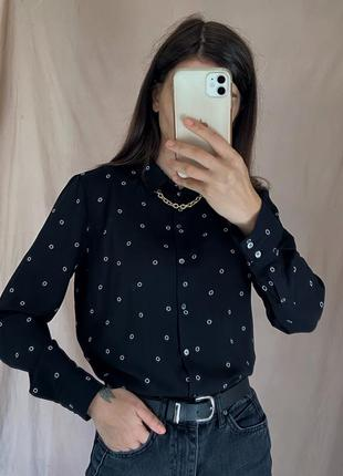 Шифонова блуза h&m