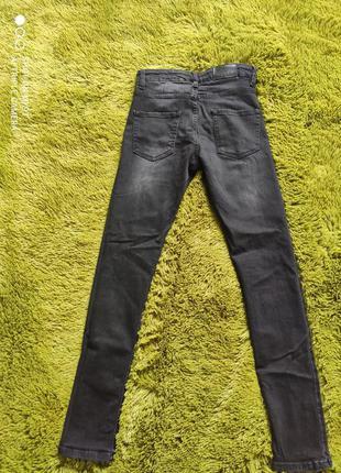 Джинсы скинни hand made jeans 673