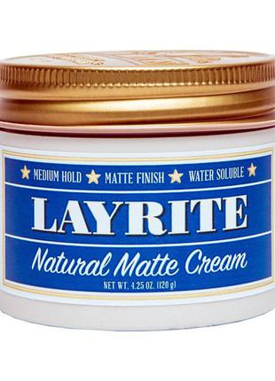 Помада для укладки волос layrite natural matte cream 120 г