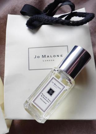 Оригинал! нишевый аромат jo malone english oak & hazelnut в подарочном пакете, 9 мл