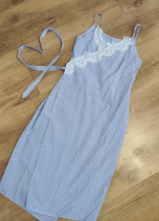 Легкий сарафан/плаття/халат на запах