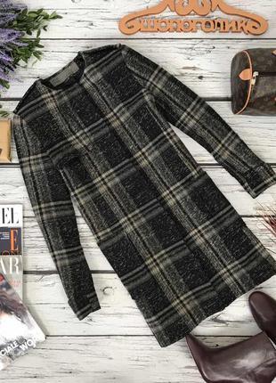 Классическое полушерстяное пальто zara  ow49120