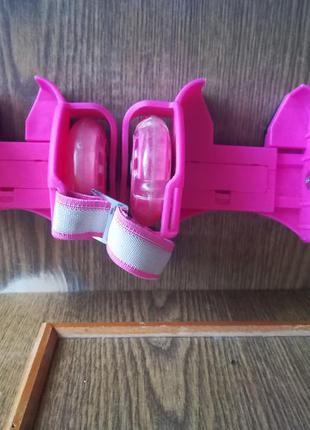 Съемные мини ролики на обувь,роликовые колеса на пятку.