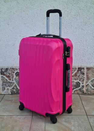 Чемодан средний wings 159 poland 🇵🇱 pink