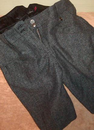 Теплые удлиненные шорты