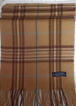 Мягчайший шарф унисекс от люкс бренда lochmere, оригинал