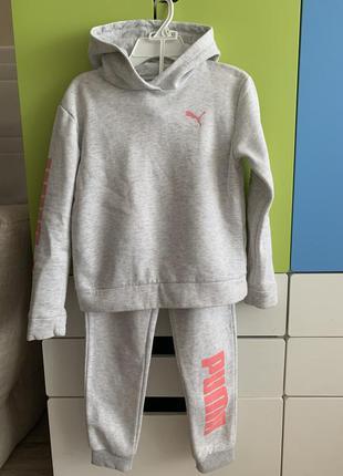 Спортивный костюм puma для девочки 8-10 лет.оригинал.