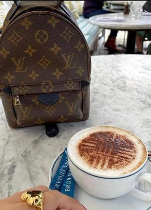 😍мини рюкзак-сумка в стиле луи виттон