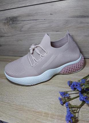 Дышащие кроссовки 🌿 спорт кросівки летние осенние текстиль на платформе