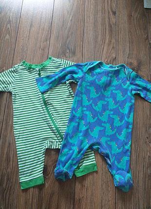 Набор комплект пижама + человечек 3-6 m 8 кг