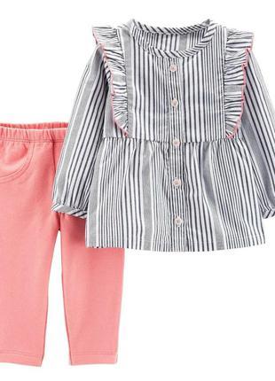 Костюм двойка, комплект рубашка и брюки на 18м