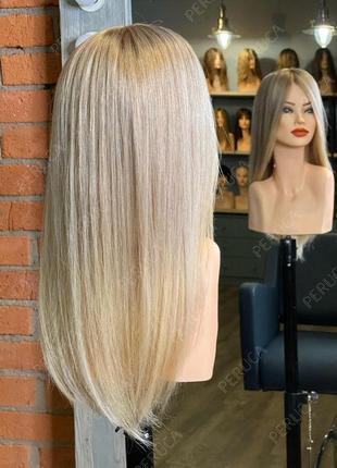 Заканчивается!7️⃣0️⃣см парик наращивание волос перука натуральный блонд окрашивание трессы волосы